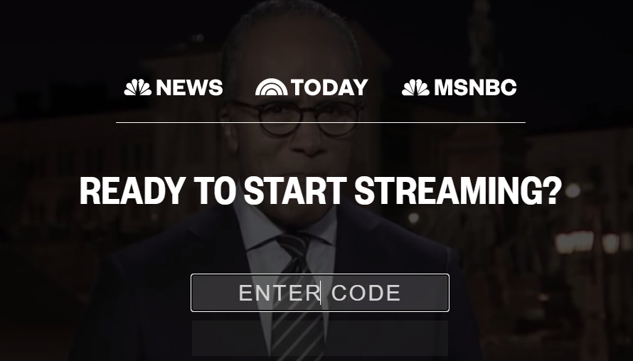 Activate MSNBC Channel for Roku